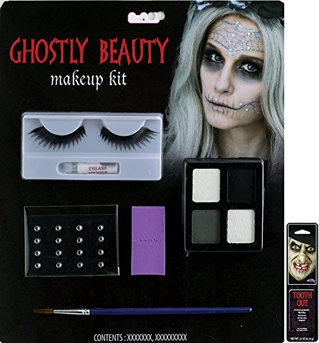 Potomac Banks® Ghostly Character Makeup Kit (Ghostly Beauty) with Free Pack of Makeup]()