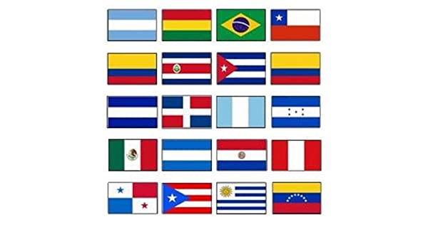 "12x18 Wholesale Lot 6 Honduras Country Stick Flag 30/"" wood staff"
