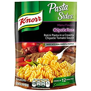 Knorr Pasta Sides Pasta Side Dish, Chipotle Rosa 4.3 oz (Pack of 12)