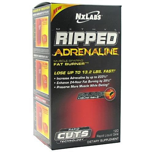 NxLabs Methyl Ripped Muscle Adrenaline-Sparing Fat Burner - 120 Rapid Liquid