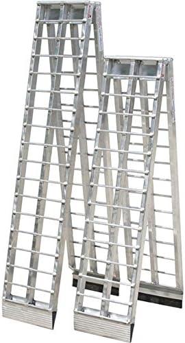 デュアル折りたたみアルミUTV &ゴルフカートロードスロープ 12 ft. MF2-14414-2000-2