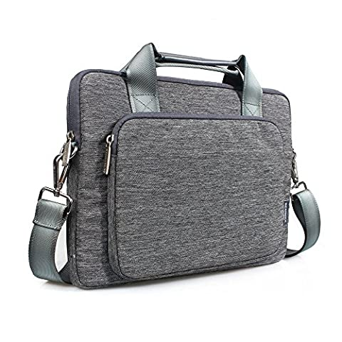 Gearmax 15-15.4 Inch Laptop Bag with Handle and Shoulder Strap Suit Fabric Water Resistant Laptop Carrying Case / Shoulder Bag / Messenger Bag / Briefcase for Macbook Pro / Tablet / (Samsung Nx 3000 Case)