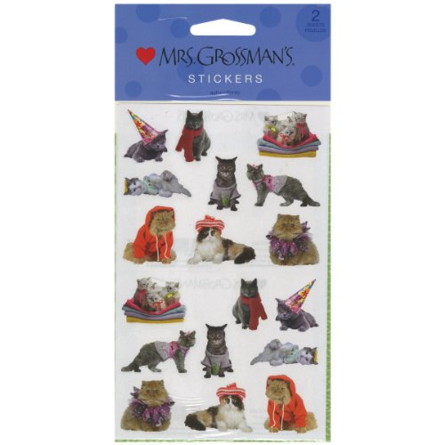 Mrs. Grossman's Stickers-Pampered - Pampered Cat