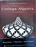 College Algebra Annotated Instructor's Edition 9780321464972