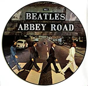 The Beatles Abbey Road Picture Disc Lp Import Diff