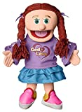 """14"""" God is Love, Peach Girl, Christian Ministry Hand Puppet"""