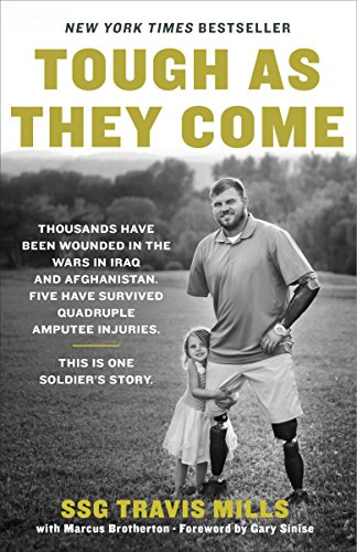 Book cover from Tough As They Come by Travis Mills
