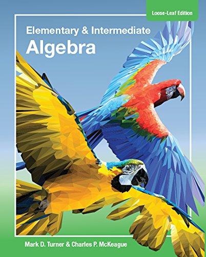 Used Book Buyback:Elementary Algebra & Intermediate Algebra with ...
