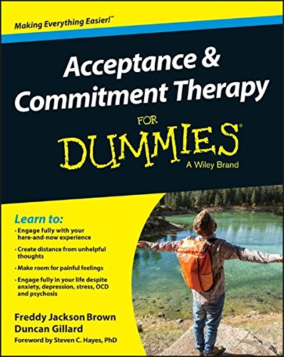 Acceptance Commitment Therapy Dummies Jackson