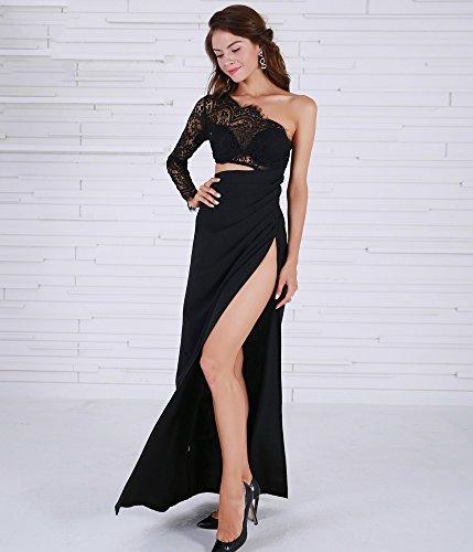 Missord - Vestido - Noche - Manga Larga - para mujer negro