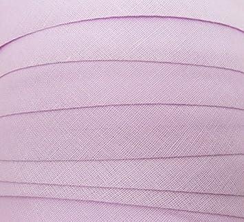 Baumwolle Blende Dunkelbraun 25 mm Schr/ägband 10 Meter Textilband