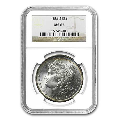 1881 S Morgan Dollar MS-65 NGC $1 MS-65 NGC
