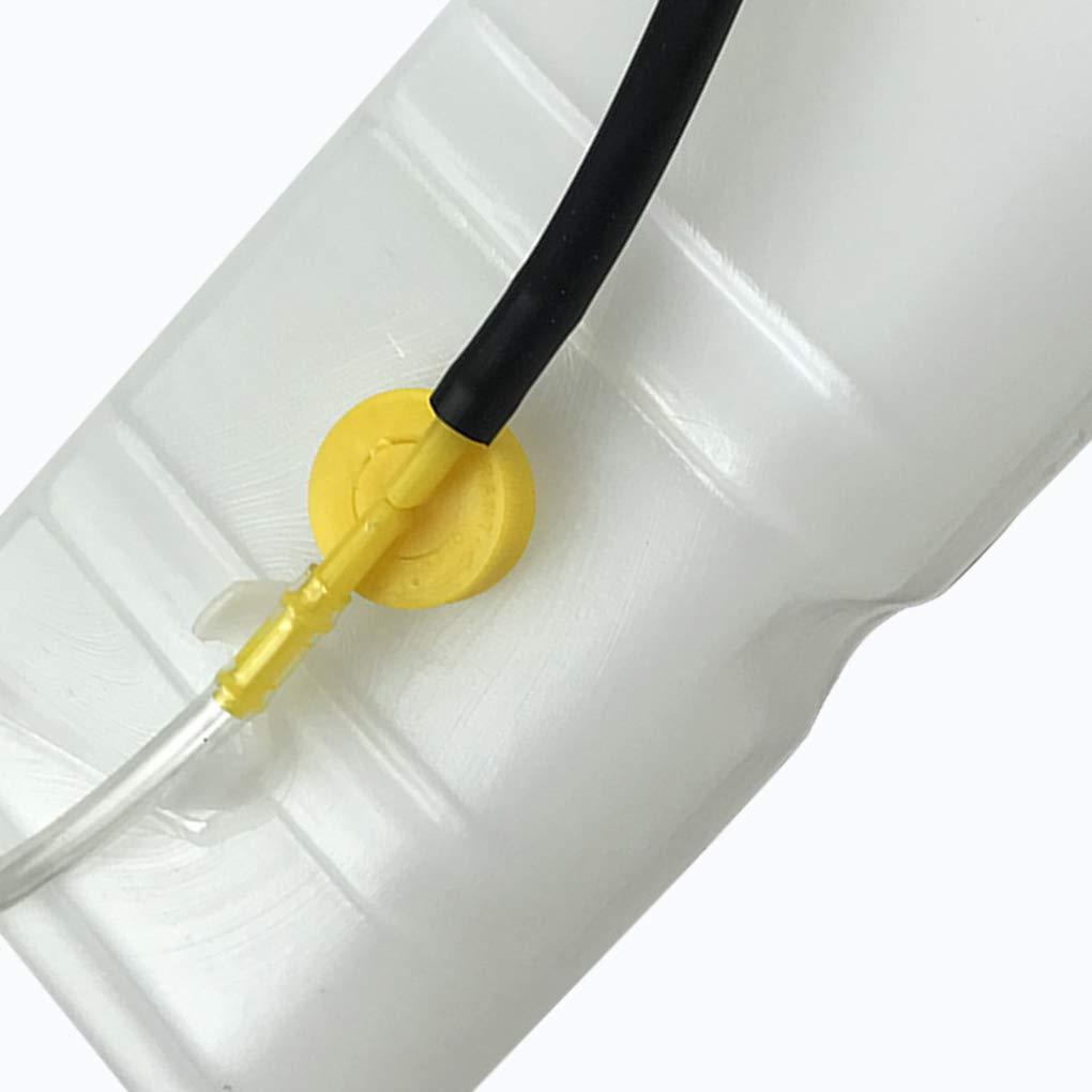 Lorsoul Radiatore Acqua refrigerante Reservior troppopieno del Serbatoio Bottiglia Moto Accessori Parte di Ricambio per Nissan Patrol
