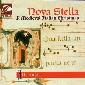 nova stella a medieval italian christmas by altramar - Italian Christmas Music