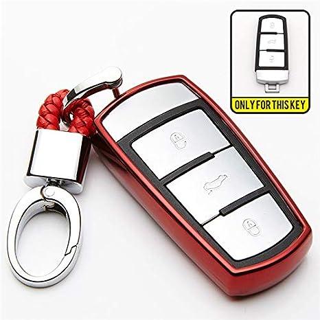Amazon.com: KUKAKEY - Carcasa de TPU para llave de coche ...
