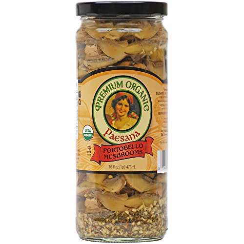 - Paesana Organic Portobello Mushrooms, 16 Ounce