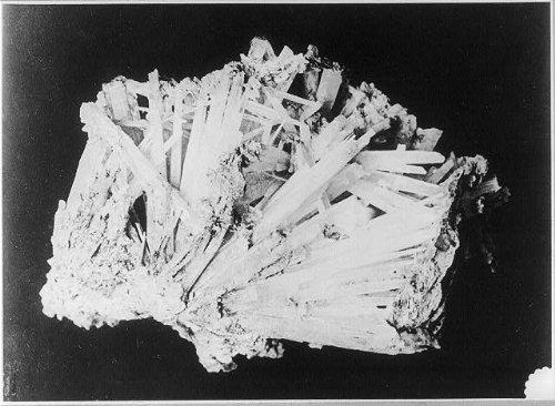 Photo of Specimen of Crystalline Asbestos,Ontario,Canada,1900-1923 Photo