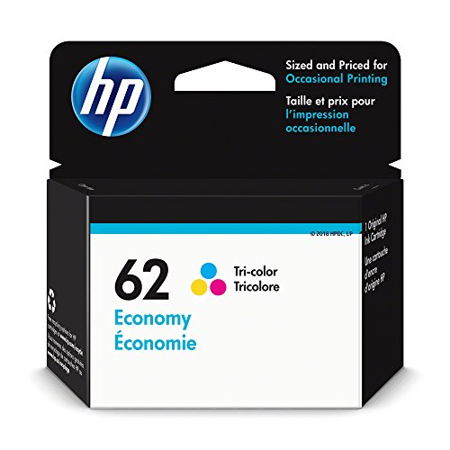 HP 62 Economy Tri-color Ink Cartridge (1VV42AN)
