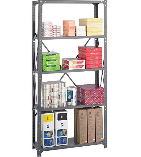 K&A Company 5 Shelf Storage Rack, 36'' x 75'' x 12'' x 22 lbs, 36 W x 12 D x 75 H by K&A Company (Image #4)