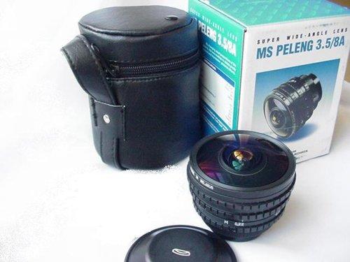 MC Peleng F 3.5 8mm レンズ Canon EOSマウント付き   B001U3IDO6