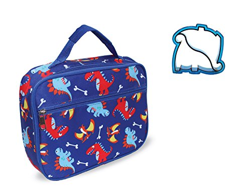 - Dinosaur Lunch Box with Dino Sandwich Cutter by Keeli Kids