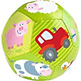 "HABA Baby Ball on The Farm 4.5"" for Babies 6 Months and Up"