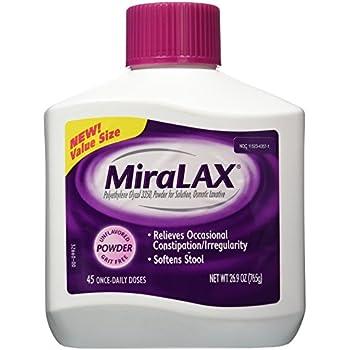 Miralax 45 Dose Powder Laxative, 26.9 Ounce