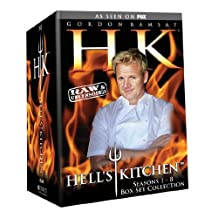 Hell's Kitchen: Seasons 1-8 Box Set Collection - Raw & Uncensored