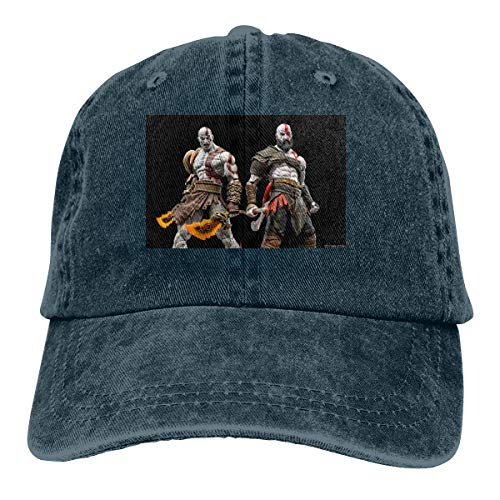 BYSKA Personalized Print Comfortable Hats Kratos God of War 2018 New Baseball-Cap Navy (Best Gun In Call Of Duty Advanced Warfare)