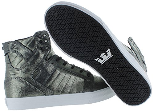 Hightop Sneakers Supra Skytop Hommes Chaussures Skate Fashion Taille 8.5