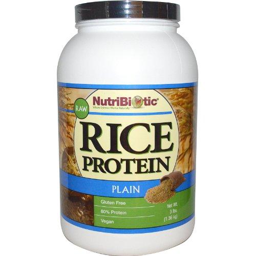 NutriBiotic Protein Powder Vegan Plain