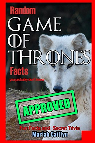 Costume Winter King (Random Game of Thrones Facts You Probably Don't)