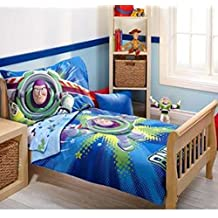 Disney Toy Story Power Up 4-Piece Toddler Bedding Set by Disney