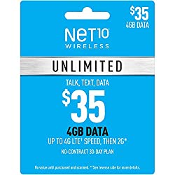 Image of the product Net10 Wireless Unlimited that is listed on the catalogue brand of Net10.