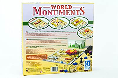 World Monuments Family Board Game from Queen Games Direct Import