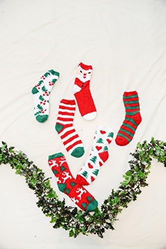 Santa de Calcetines antideslizantes red Eesa Adam mujer Luffy t01xxqw5