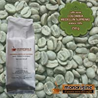 Arabica Green Coffee beans Colombia Medellin Supremo