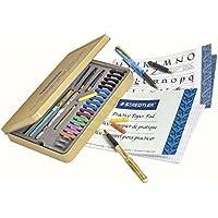 Staedtler calligraphy pen set, Complete 33 piece tin,...