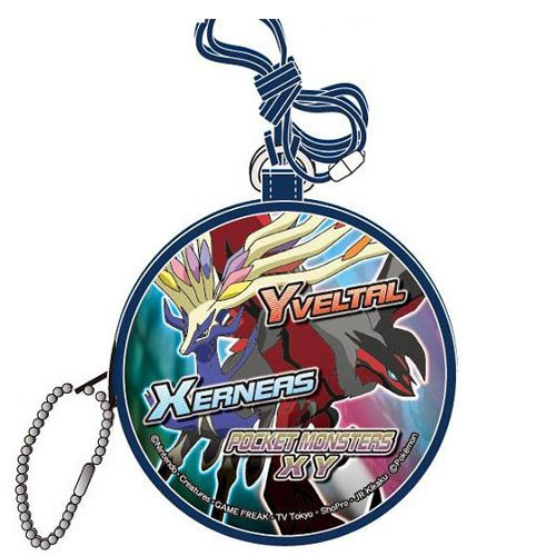 Price comparison product image pokemon XY Round Type Neck Purse Navy PM-1902NVY