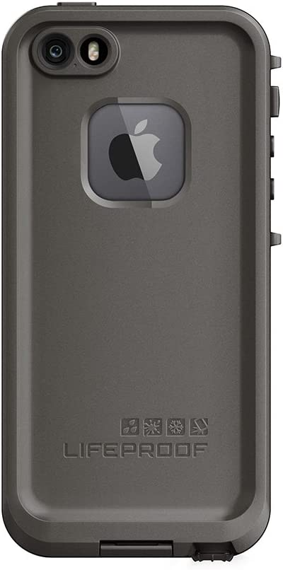 LifeProof FRĒ SERIES Waterproof Case for iPhone SE (1st gen - 2016) and iPhone 5/5s - Retail Packaging - GRIND (DARK GREY/SLATE GREY/SKYFLY BLUE)