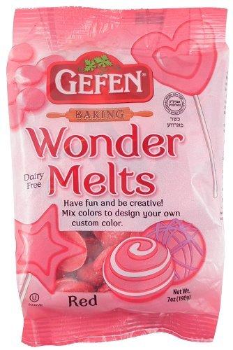 WONDER MELTS Red Gefen Baking - Kosher