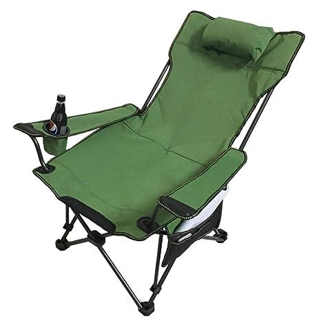 HCCKFHSDI FVDNJX Silla de Camping Portátil de Jardín ...