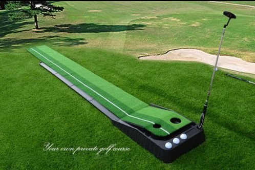 Indoor Golf Set P4G Ball Auto Return Putting Mat Indoor and Outdoor Mini Golf by P4G (Image #6)