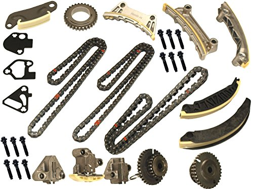 Suzuki Chain (Timing Chain Kit For 07-09 Saab Suzuki Buick Cadillac CTS SRX STS 3.6L DOHC 24V)