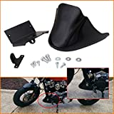 Jade Onlines Front Spoiler Fairing for Harley Sportster Iron XL 883 XL1200 (Black Low Rider Chin Spoiler Accessories)