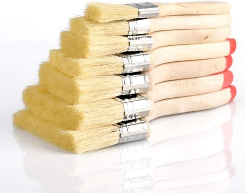 Jeu de 7 pinceaux id/éal pour les peintres professionnels et les propri/étaires de peinture Mur /à la maison
