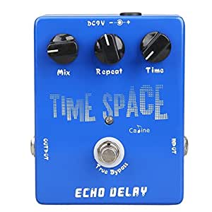 caline time space delay guitar effect pedals echo delay true bypass design cp 17. Black Bedroom Furniture Sets. Home Design Ideas
