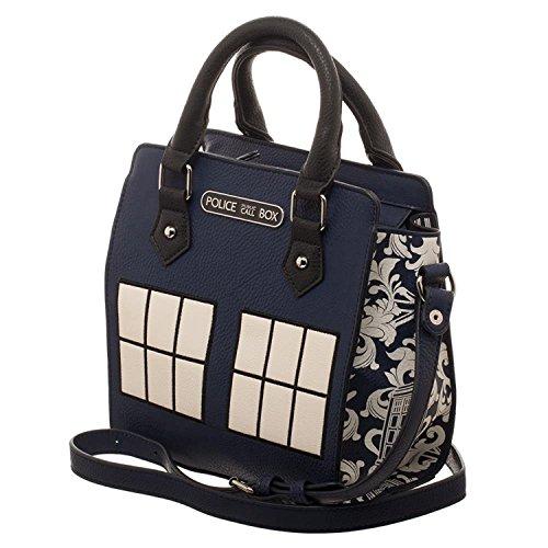 Doctor Who Police Box Jrs. Mini Brief - Womens Mini Box