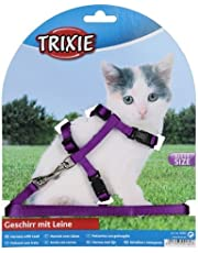 Trixie Kitten Harness with Leash, Nylon (colour assorted)