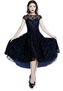 884f33b1aed Plus Size Red   Black Gothic Retro Hi Lo Lace Short Sleeve Dress (3X ...
